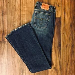 Lucky Brand Straight Leg X-Long Inseam Jeans